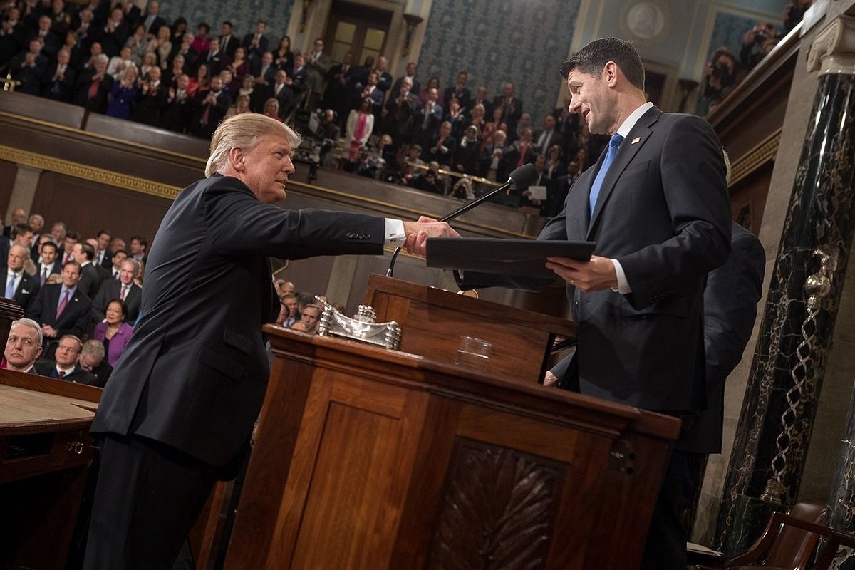 Trump paul ryan qc4bwp