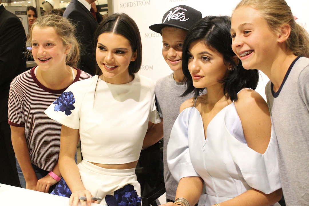 01c86d2fcaa Kendall and Kylie Jenner Talk Steve Madden Shoes at Nordstrom ...