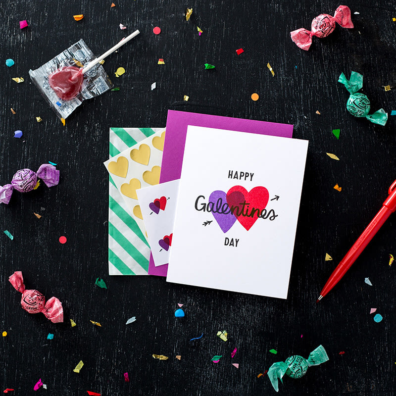 Galentines cards party tvnlwy