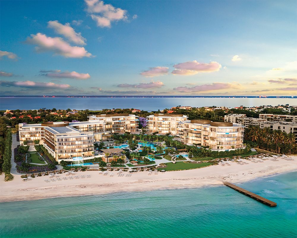 A rendering of The Residences at St. Regis Longboat Key