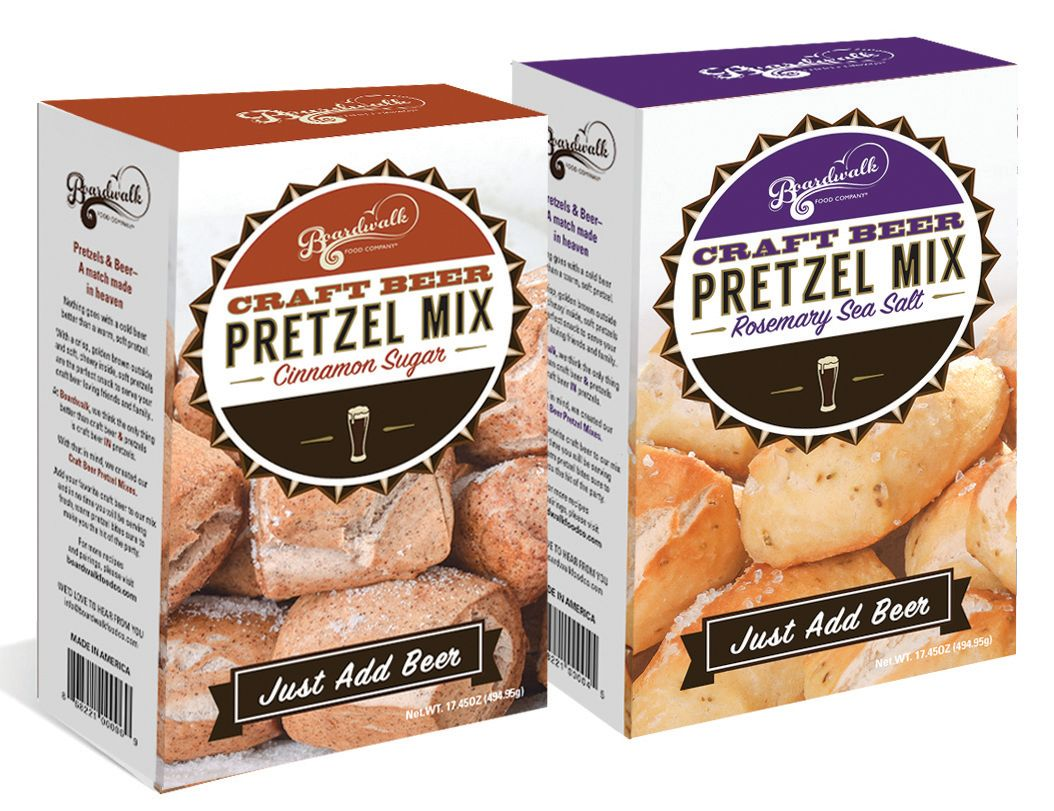 Boardwalk craft beer pretzel mixes hqjthy