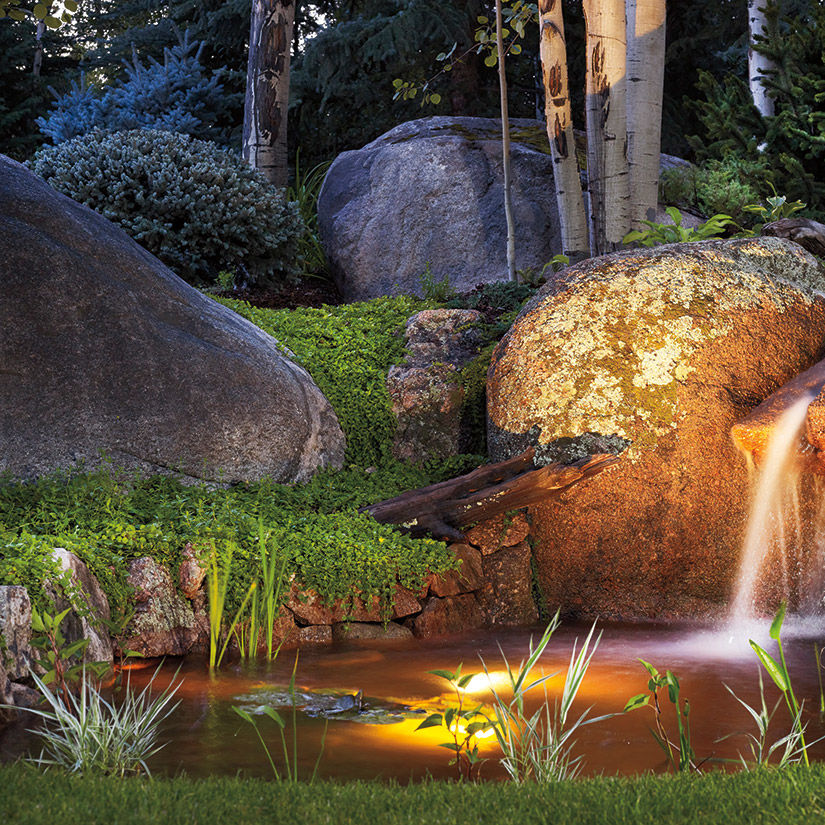 0714 enchanted garden waterfall hnjxwy