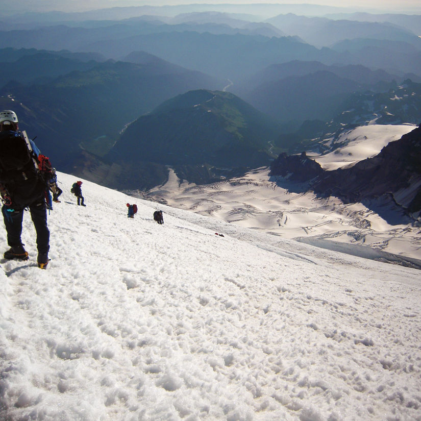 Rainier summit j4va3y