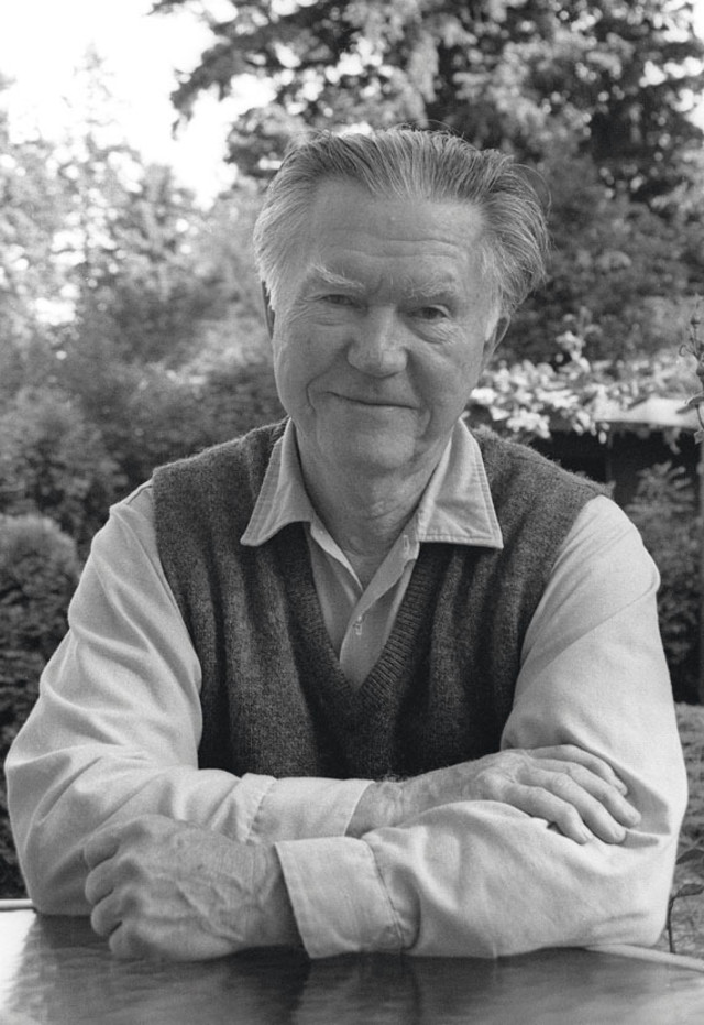 William Stafford one time