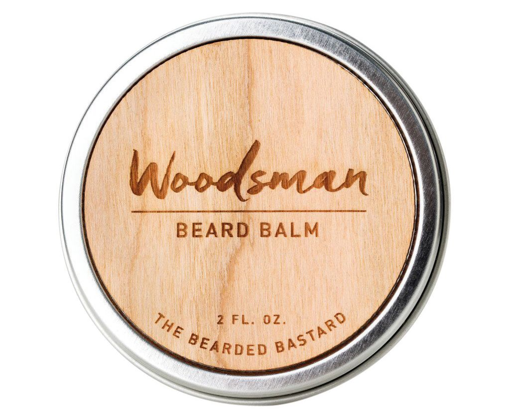 Woodsman beard balm by the bearded bastard wra1er