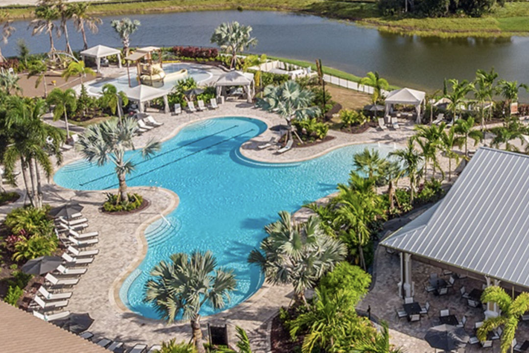 The pool at Esplanade on Palmer Ranch