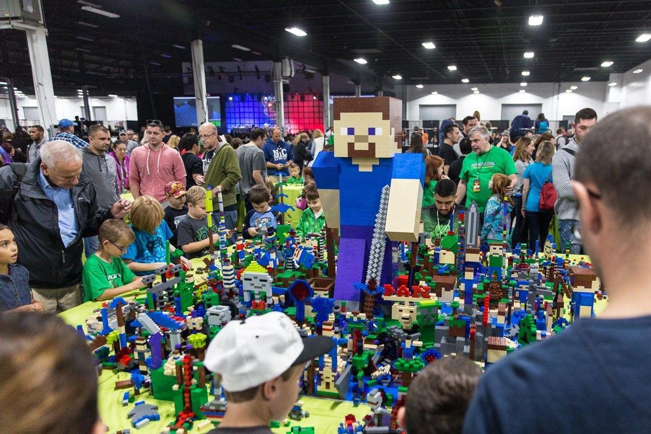 Minecraft lego experience esmojs