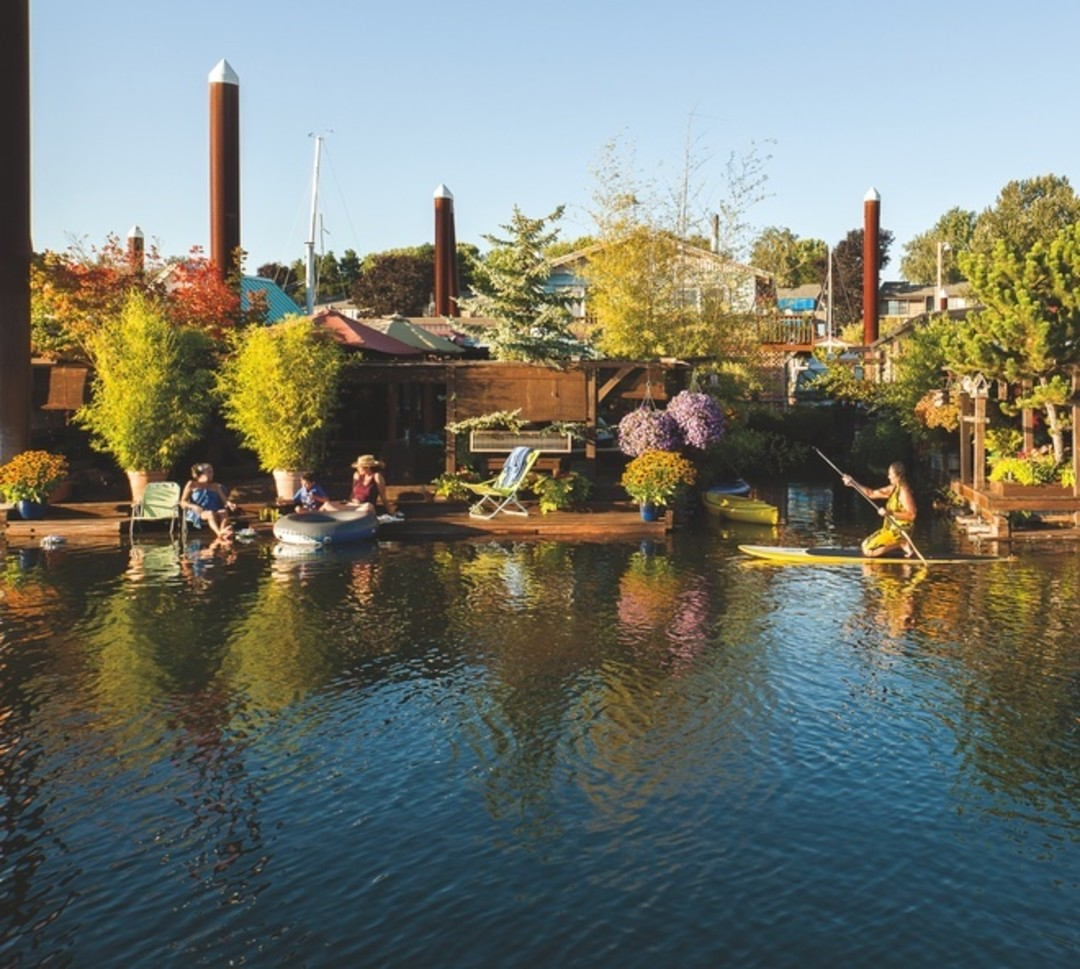 The Houseboat Life | Portland Monthly