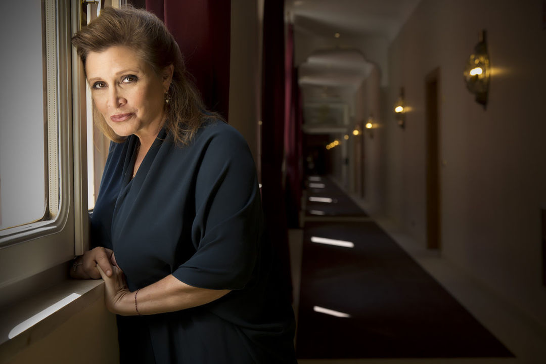 Actress carrie fisher   riccardo ghilardi photographer g4ps0w