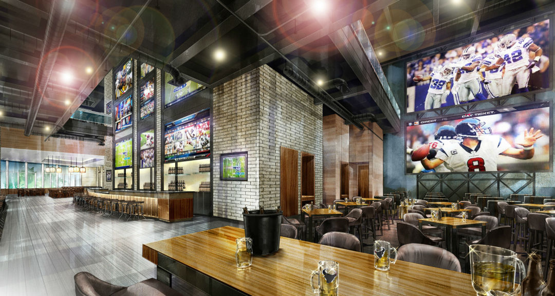 At The New Marriott Marquis A Killer Sports Bar For A