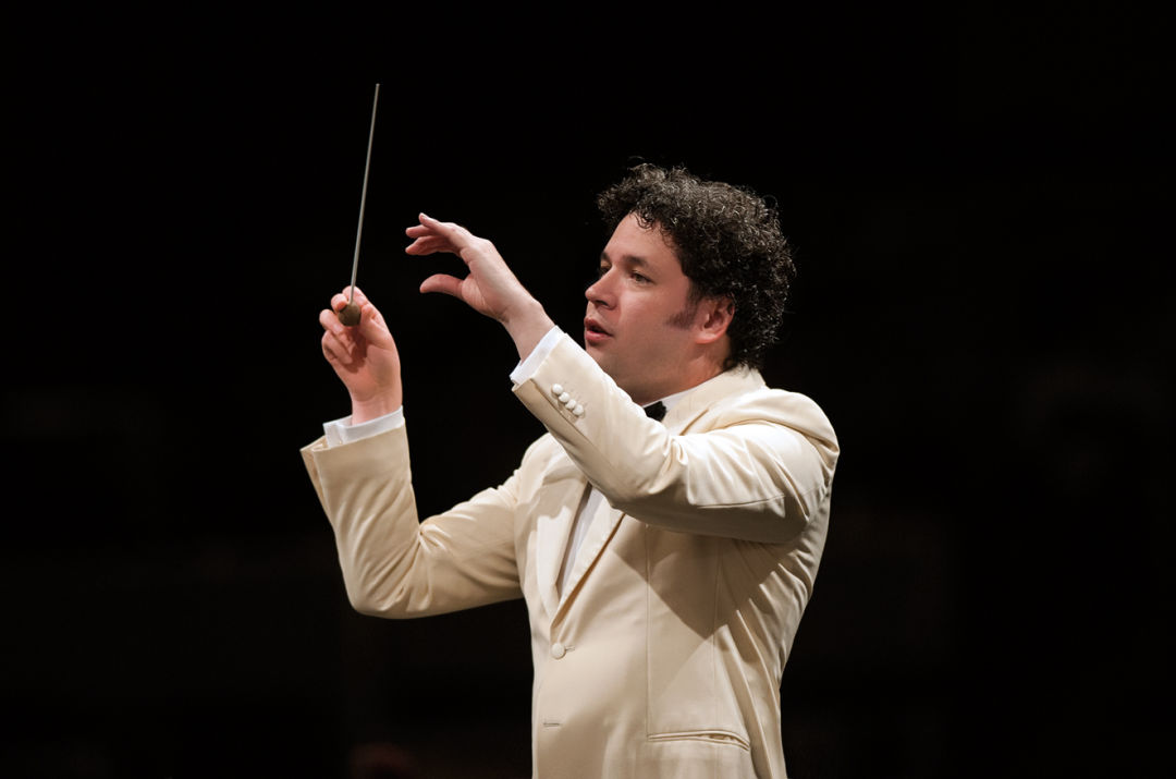 Courtesy los angeles philharmonic association gustavo dudamel wq7bbc