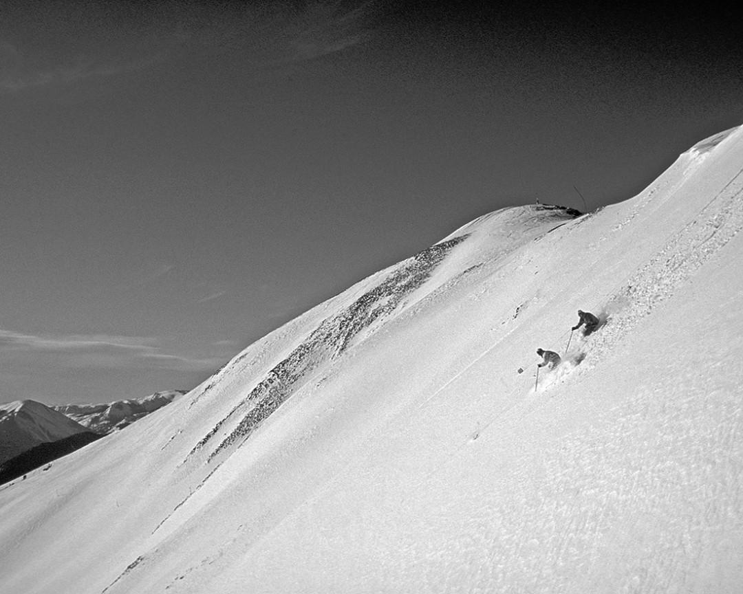 0215 breaking trail downhill spxxnf
