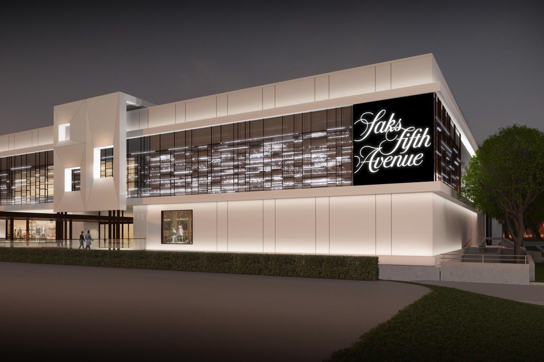 Saks houston new store presentation3 ct3kbn