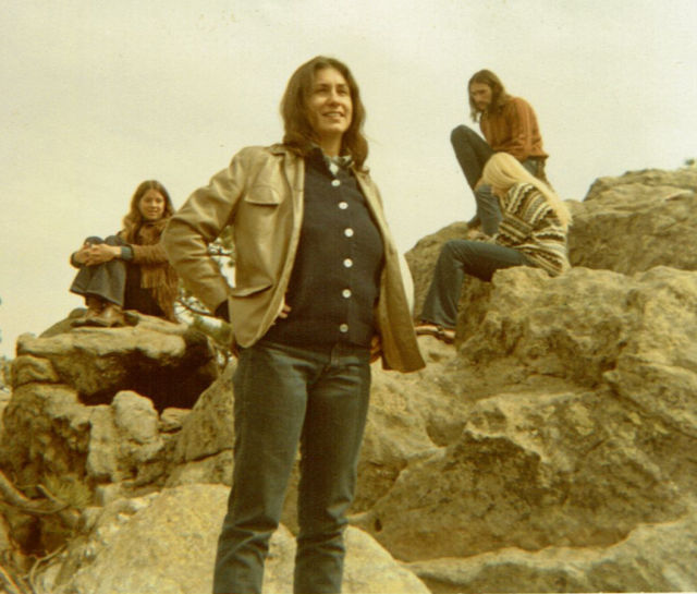 0518 oregon woman judith arcana colorado road trip 1970 v9py4f