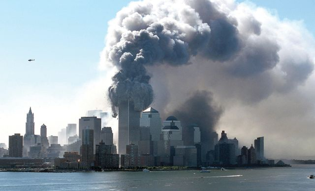The Twin Towers on 9/11
