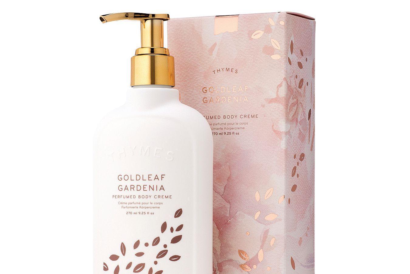 Goldleaf gardenia perfumed body creme e7p21h