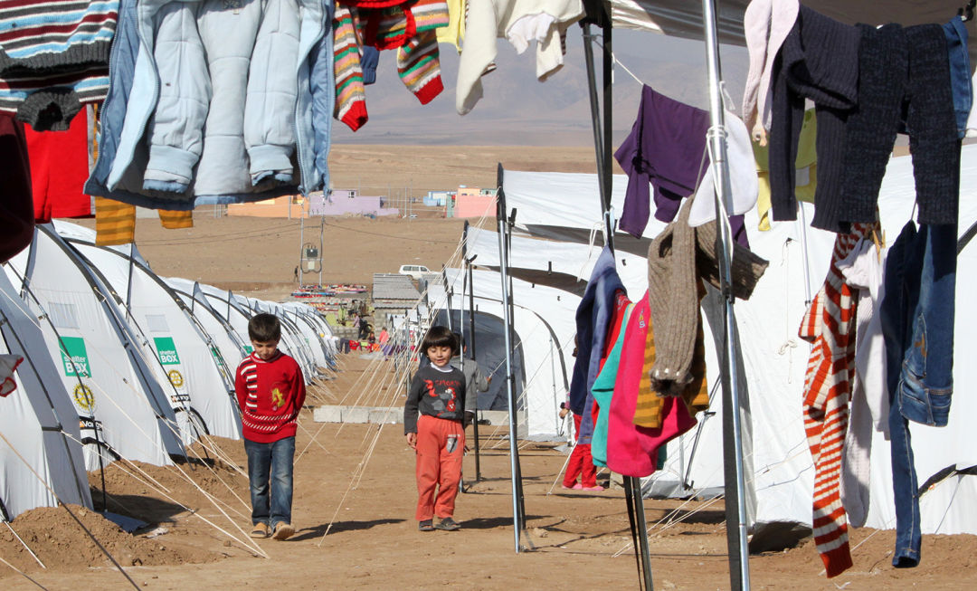 Shelterbox tents in iraq mdvclk