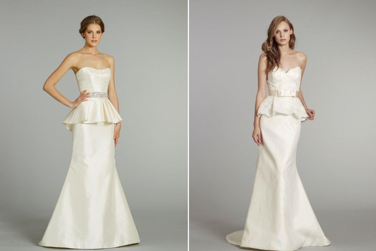 Trend Peplum Wedding Dresses Park City Magazine