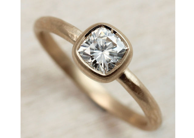 5mm rustic cushion cut solitiare moissanite 14k yellow gold 1 1024x1024 oqrsaj