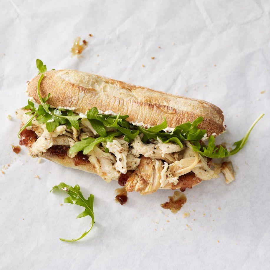 Mercato   herbed chicken  fig spread sandwich ken8t6