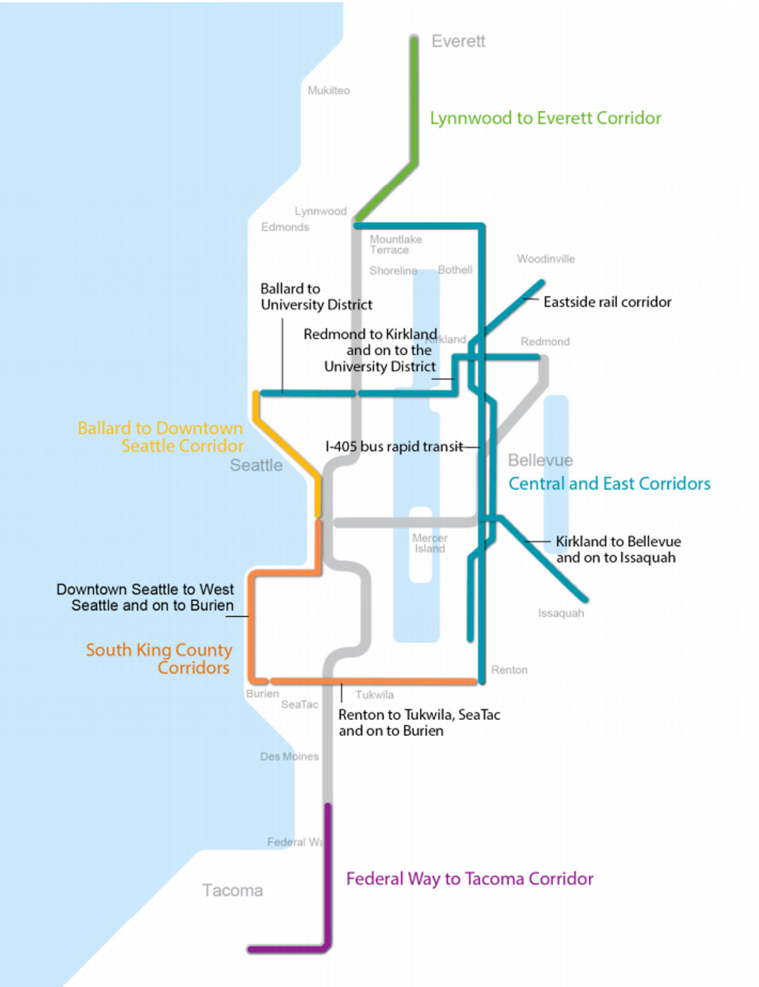how to bring more light rail to seattle, in four not-so-easy steps