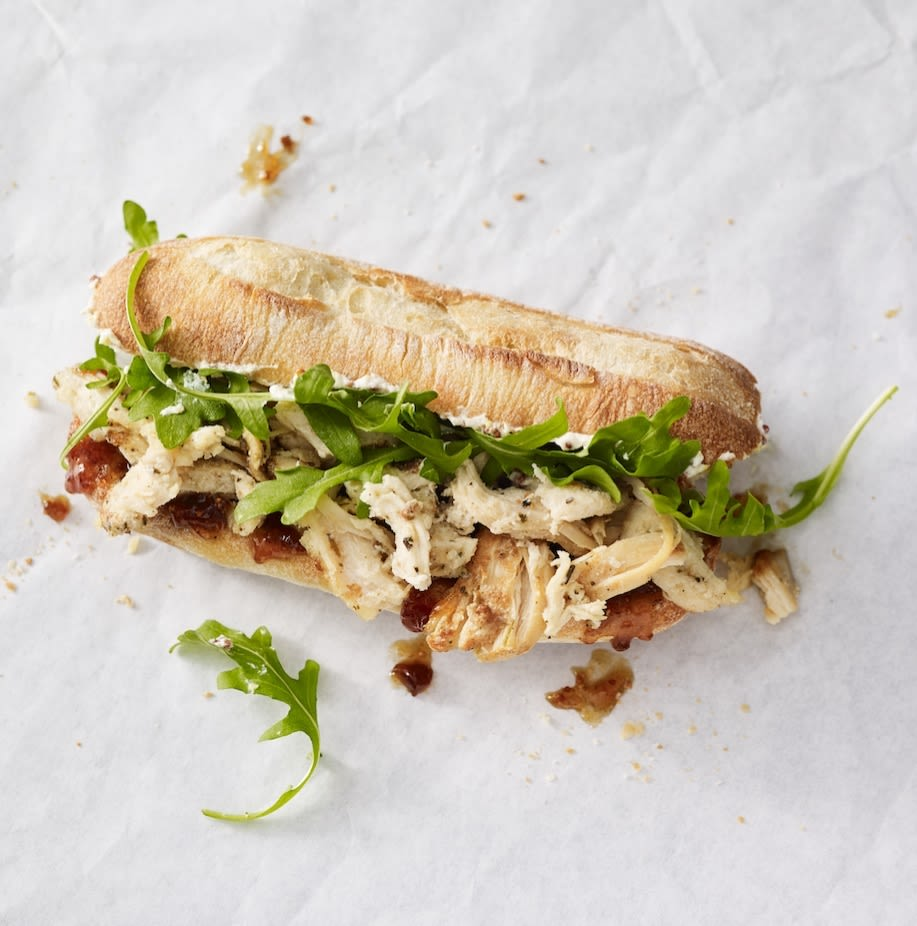 Mercato   herbed chicken  fig spread sandwich ken8t6