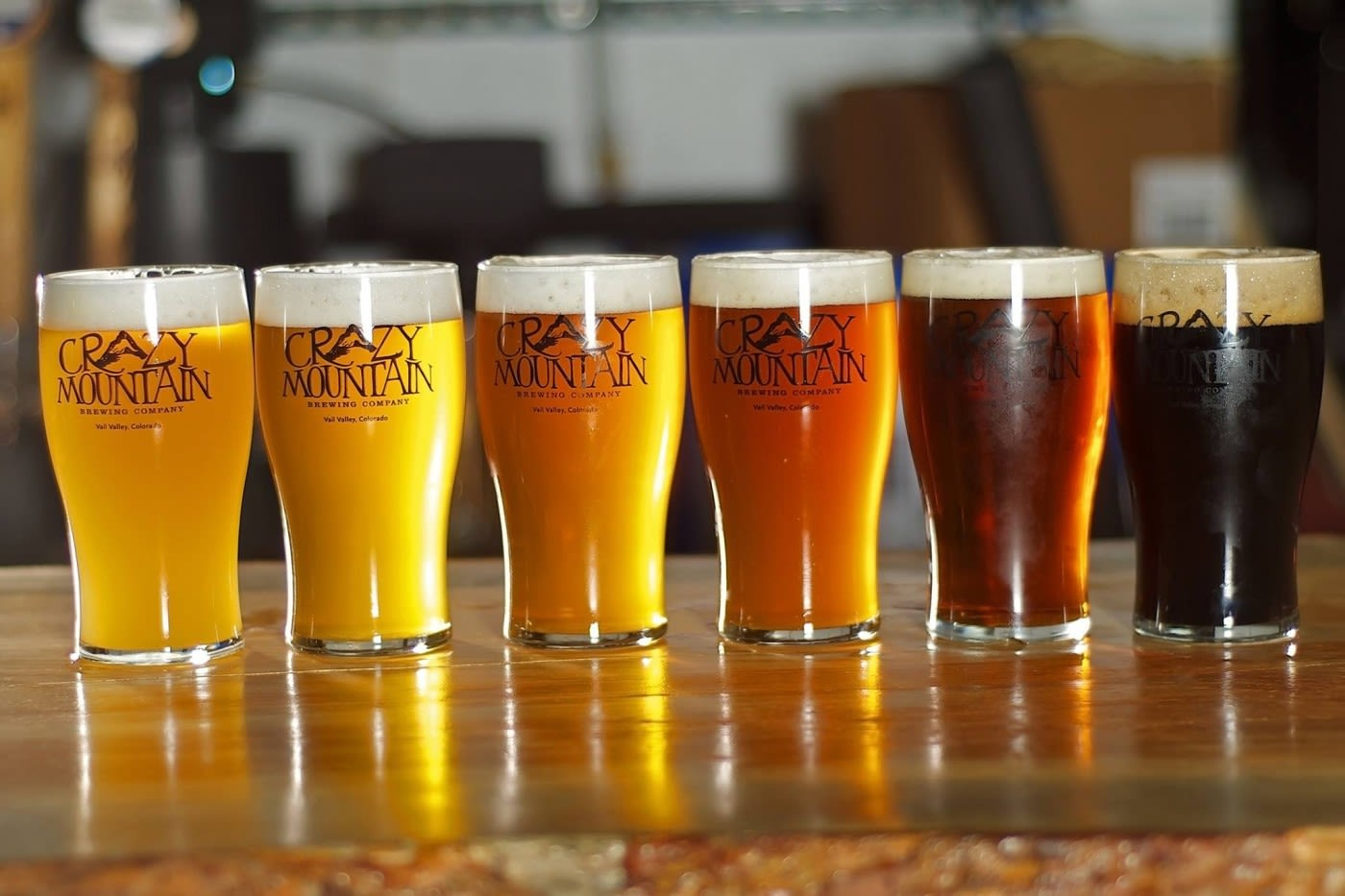 Crazy mountain brewery tap takeover pint night   denver bicycle cafe tlkw9n