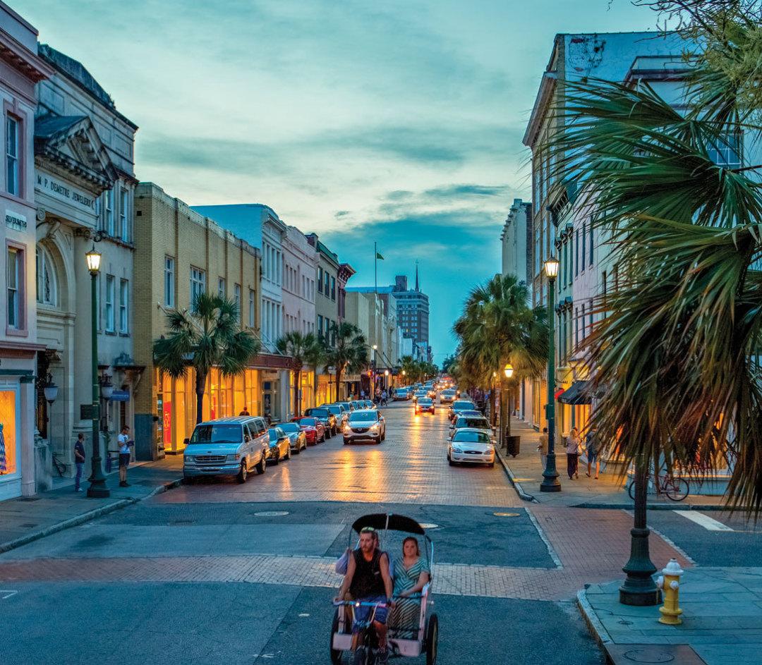 King St Charleston Sc: Great Escapes: Charleston