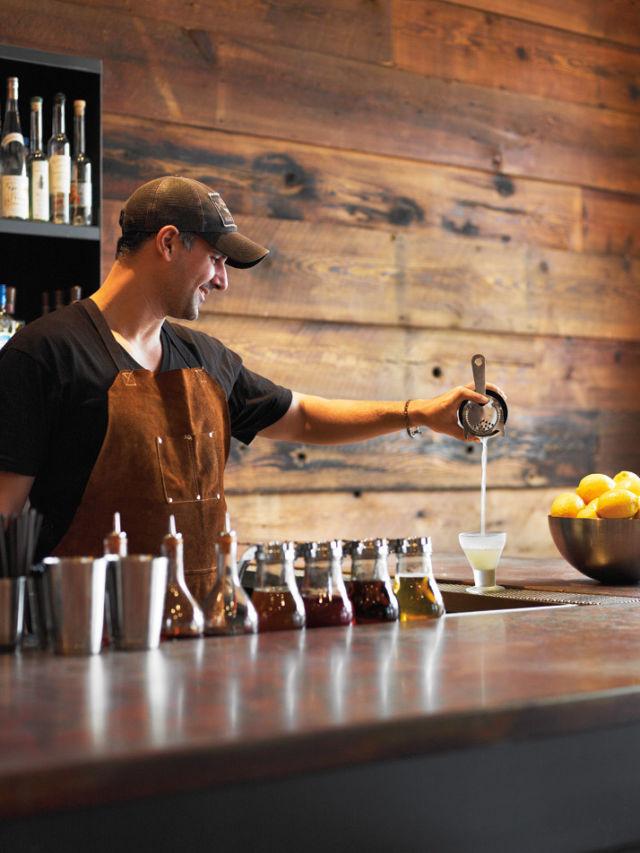 Oven shaker bartender pour pbrmjb