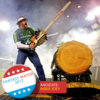 Timber joey chainsaw soccer j98roe