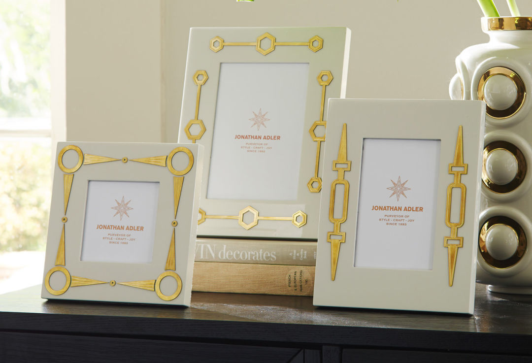 Modern turner frames styled jonathan adler p0mapc