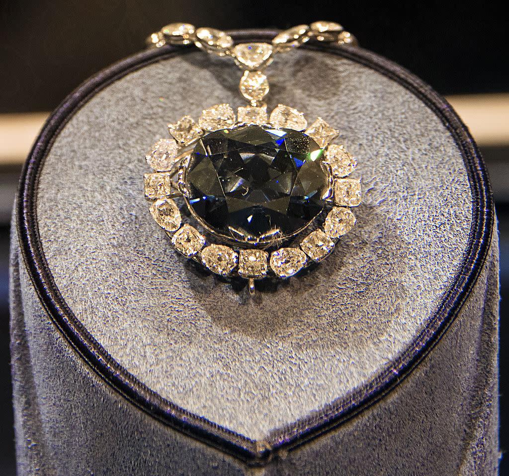 Hope diamond closeup xkusoo