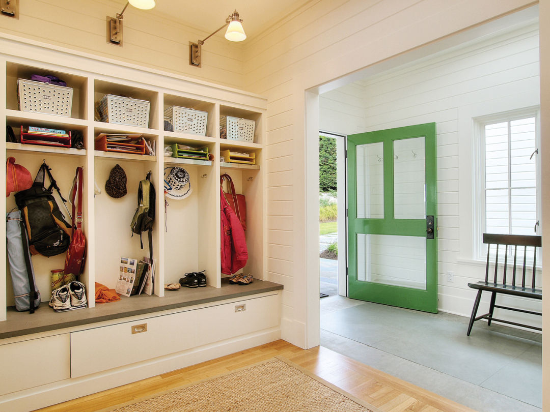 Foyer Mudroom Units : How to create an entryway seattle met