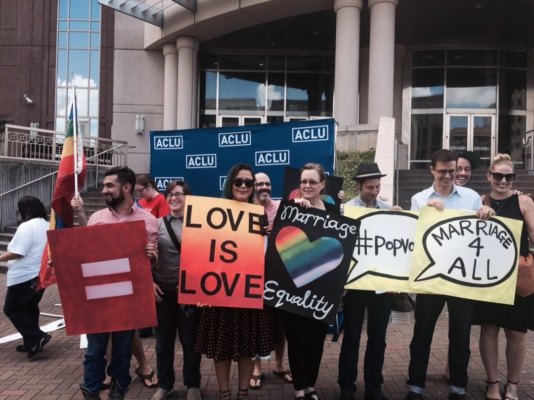 Love Wins: Houston Celebrates Same-Sex Marriage Ruling