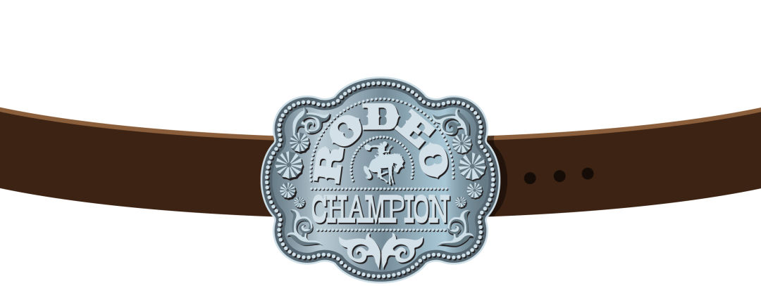 Park city summer 2012 horses rodeo champion belt n3fyfe