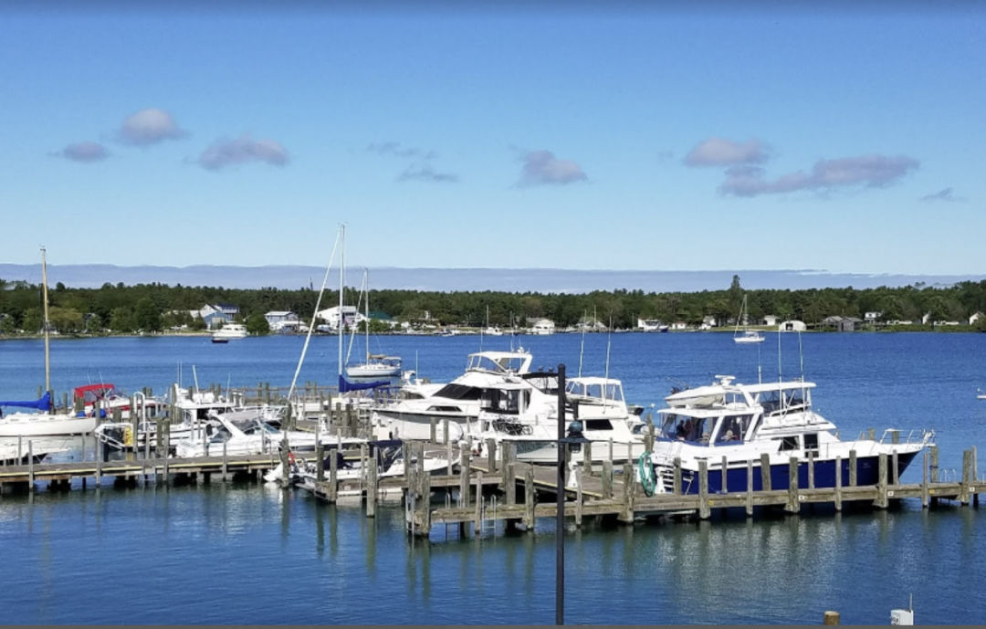 Hop on a ferry to get from Charlevoix, on the mainland, to Beaver Island