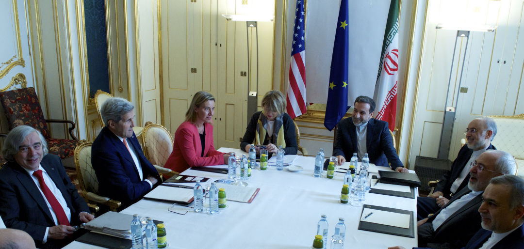 Nuclear talks vienna austria john kerry iran july 2015 gw9jbf
