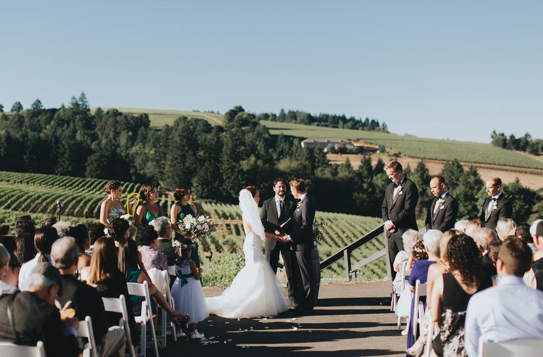 Real Wedding: Dena + Braden   Pacific Northwest Weddings