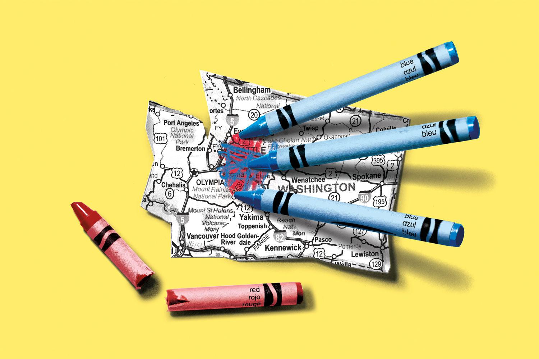 Seme 0117 power lines blue crayon illustration fjbegs