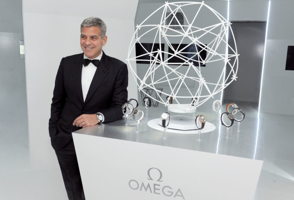 c81b53839b33c George Clooney and Omega Bring Space Chic to Sugar Land