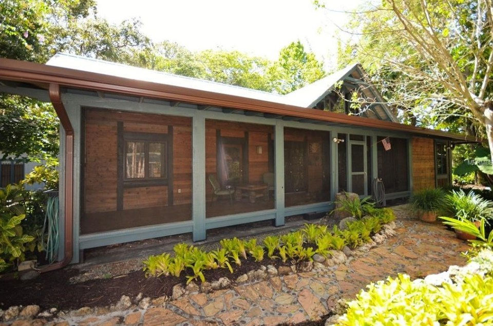 Step Inside A Japanese Style Home With Its Own Koi Pond And Tea House In  Bayou Oaks.