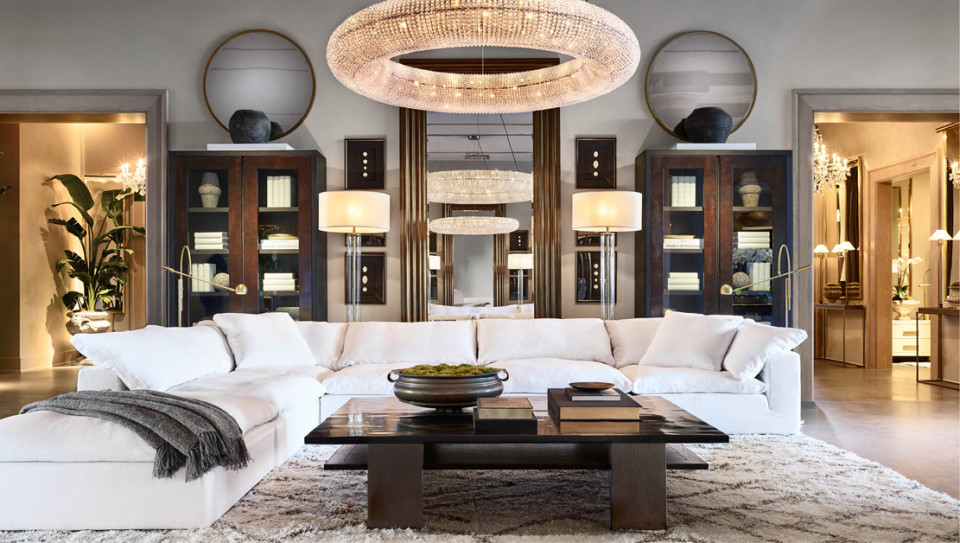 Restoration Hardware Opens Four Floors Of Home Decor Eye Candy