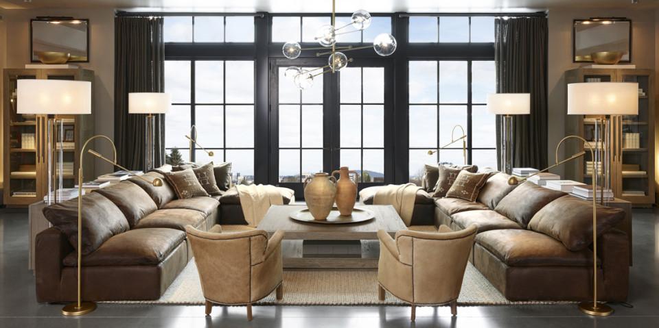Restoration Hardware Opens Four Floors Of Home Décor Eye Candy