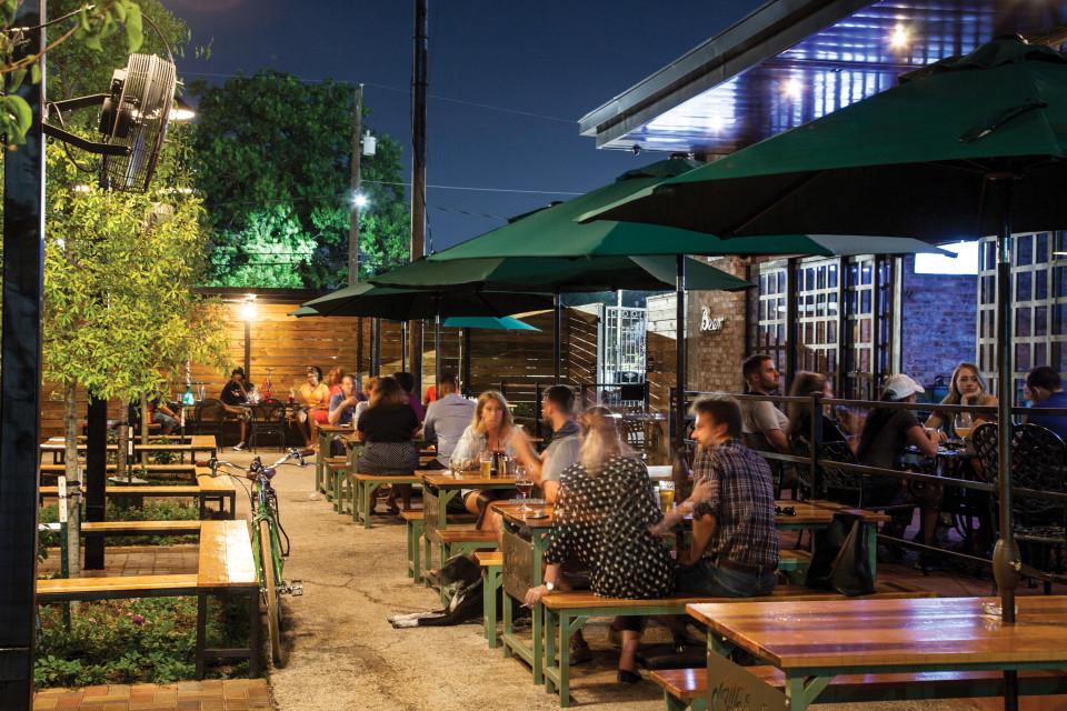 Heights Bier Garten Restaurants Houstonia