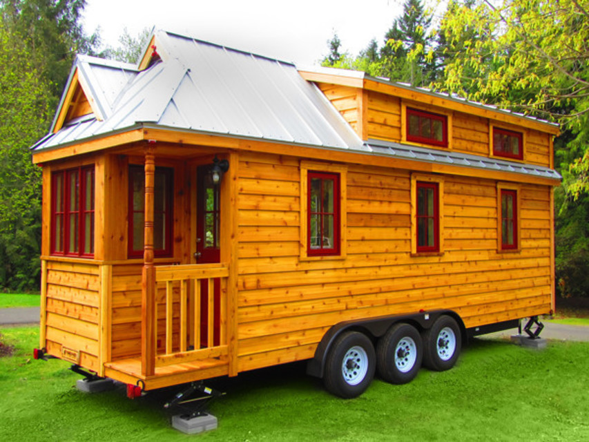 Mini Vacation Try on Mt Hood Villages New Tiny Homes for Size