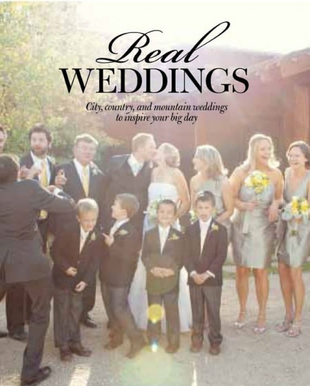Real Weddings: Submission Details + Deadline for the Summer