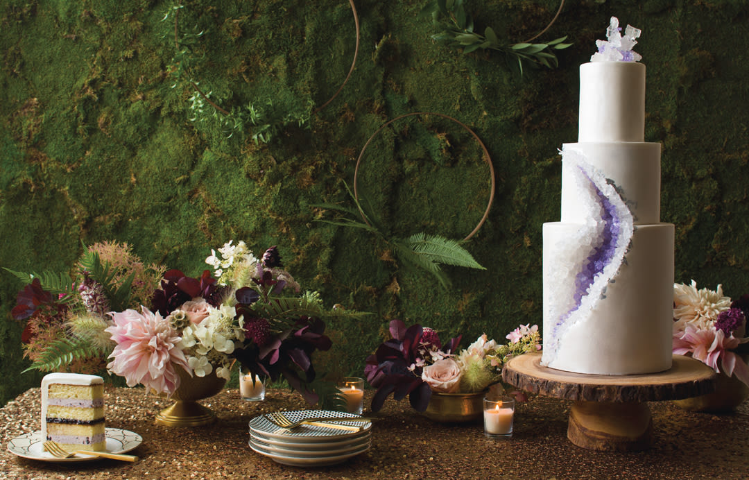 5 Organically Elegant Wedding Cakes Portlandbrideandgroomcom