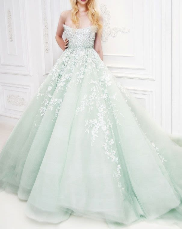 Minty Fresh: 10 Green Wedding Gowns We Love  Park City Magazine