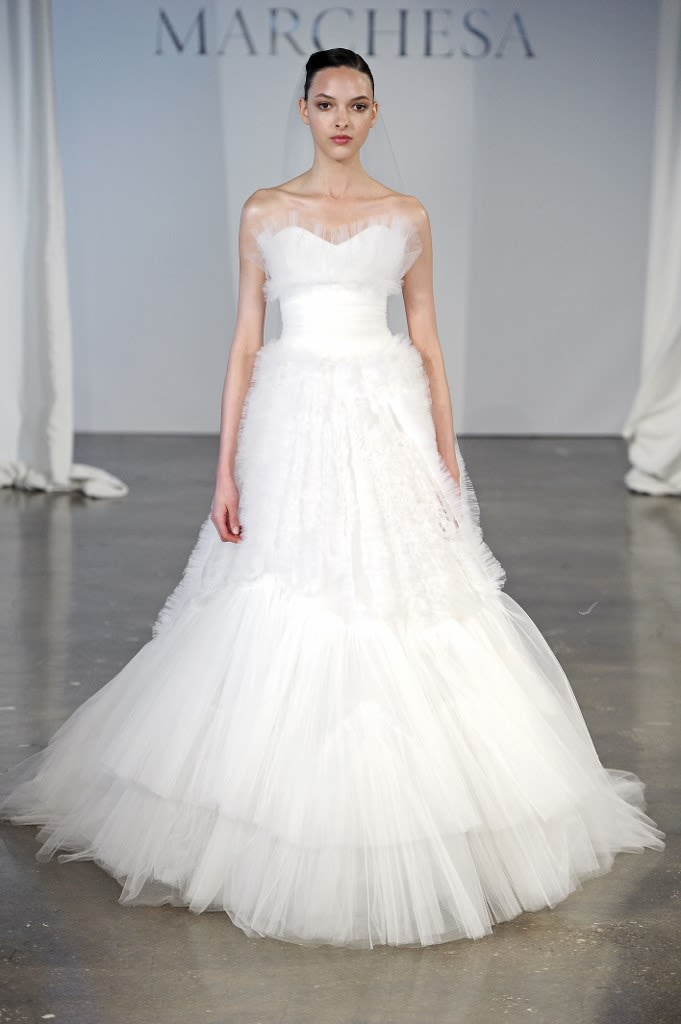 3eeee2c4655 From the Runway  Marchesa Bridal Spring 2014 Collection