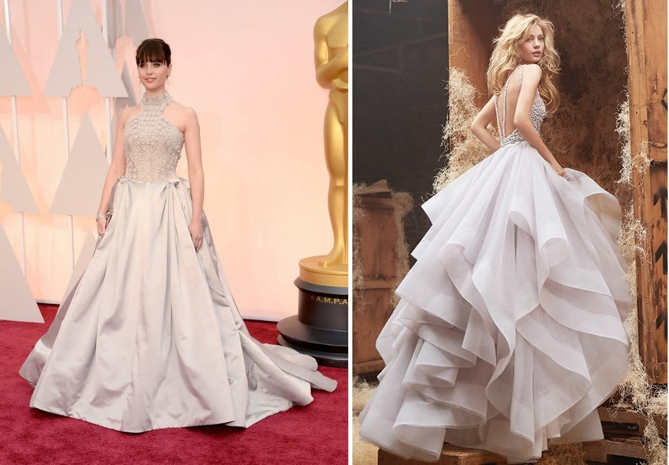 Get the Look: 12 Oscars-Inspired Wedding Gowns | Pacific Northwest ...